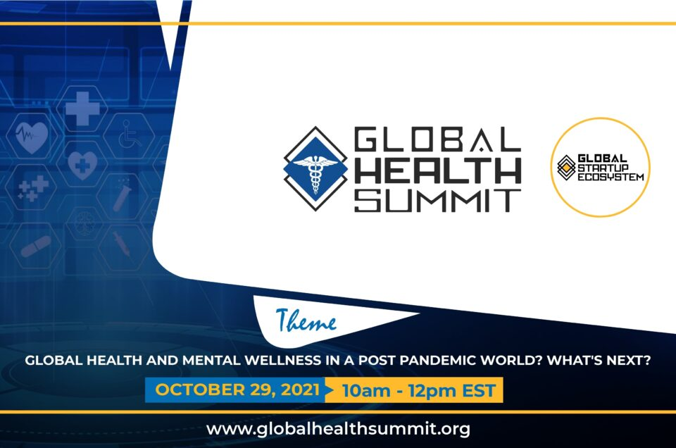 Global Startup Ecosystem (GSE) Announces 2021 Annual GSE Global Health Summit
